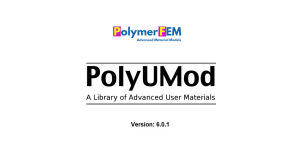 Introduction to PolyUMod